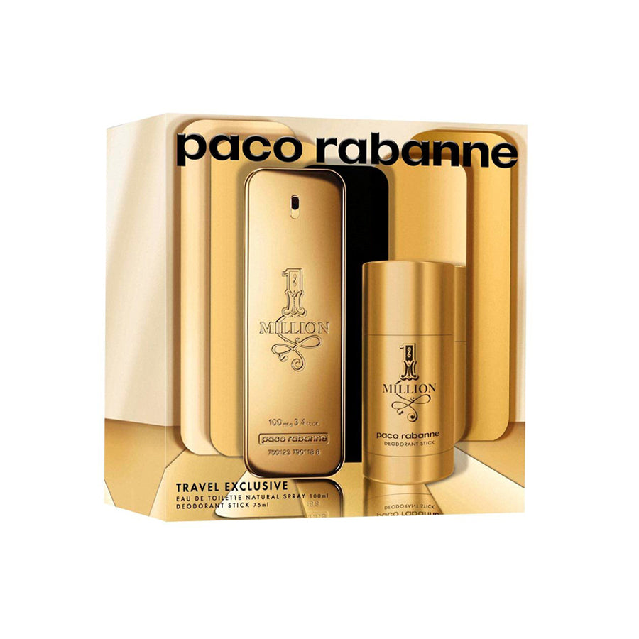 Paco Rabanne 1 Million Eau De Toilette 100ml Gift Set