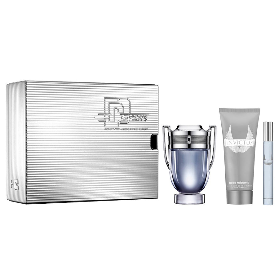 Paco Rabanne Invictus Eau De Toilette 100ml Holiday Collector Gift Set