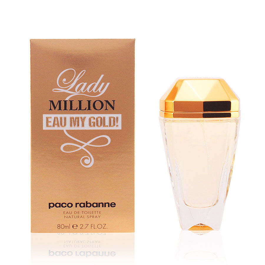 Paco Rabanne Lady Million Eau My Gold! Eau De Toilette 80ml