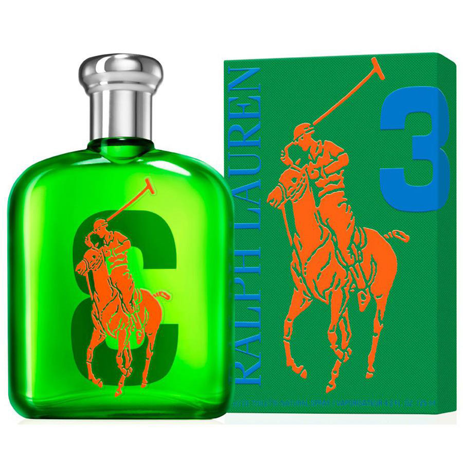 Ralph Lauren Big Pony 3 Eau De Toilette 125ml