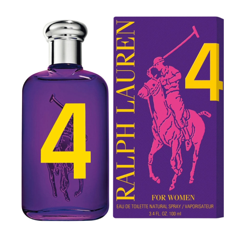Ralph Lauren Big Pony 4 Women Eau De Toilette 100ml