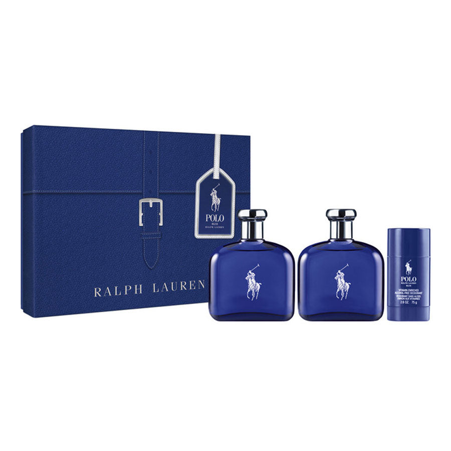 Ralph Lauren Polo Blue Eau De Toilette 125ml Gift Set