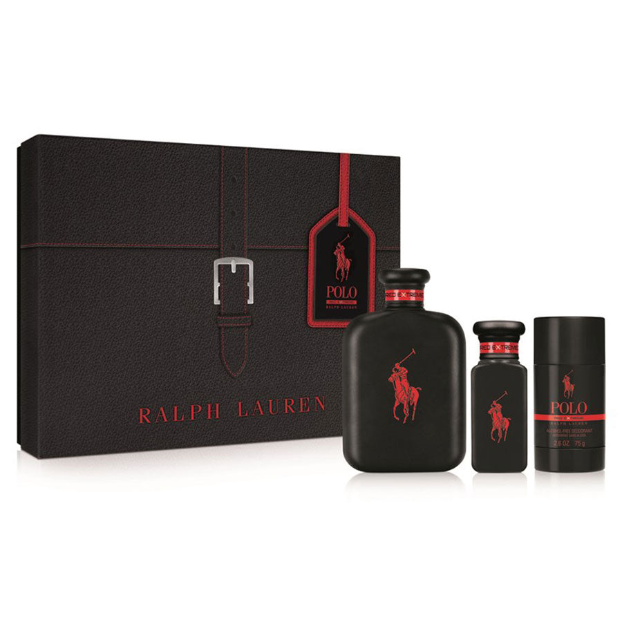 Ralph Lauren Polo Red Extreme Parfum 125ml Gift Set