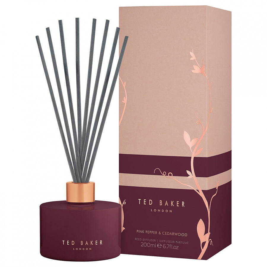 Ted Baker Pink Pepper and Cedarwood Reed Diffuser 200ml