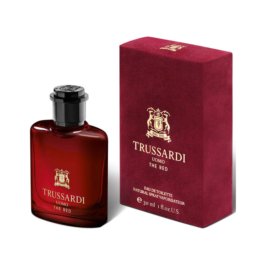 trussardi uomo the red eau de toilette 30ml perfume. Black Bedroom Furniture Sets. Home Design Ideas