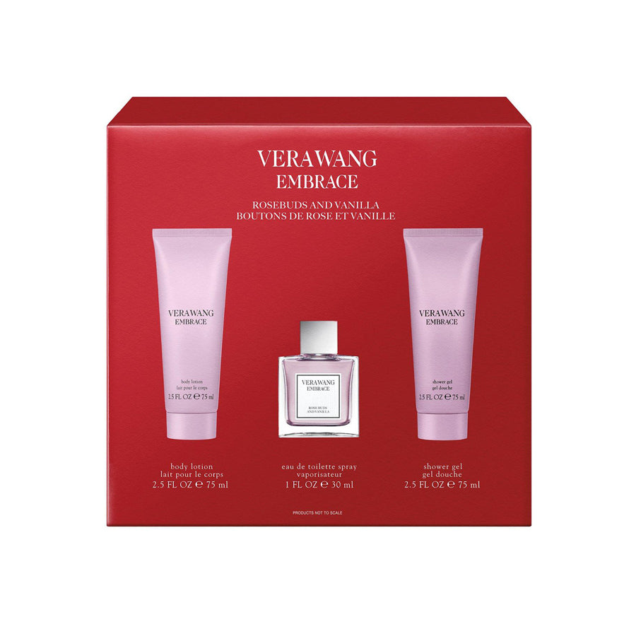 Vera Wang Embrace Rose Buds and Vanilla Eau De Toilette 30ml Gift Set