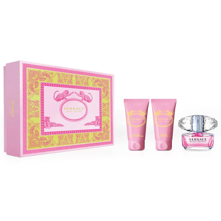 Versace Bright Crystal Eau De Toilette 50ml Gift Set