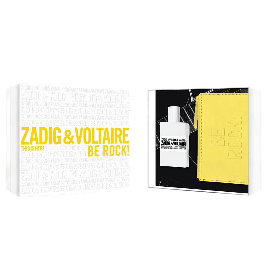 Zadig & Voltaire This Is Her! Eau De Parfum 50ml Gift Set