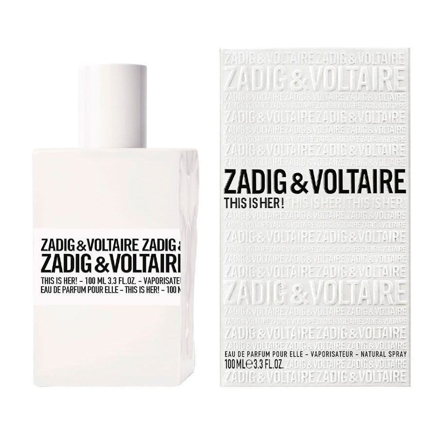 Zadig & Voltaire This Is Her! Eau De Parfum 100ml