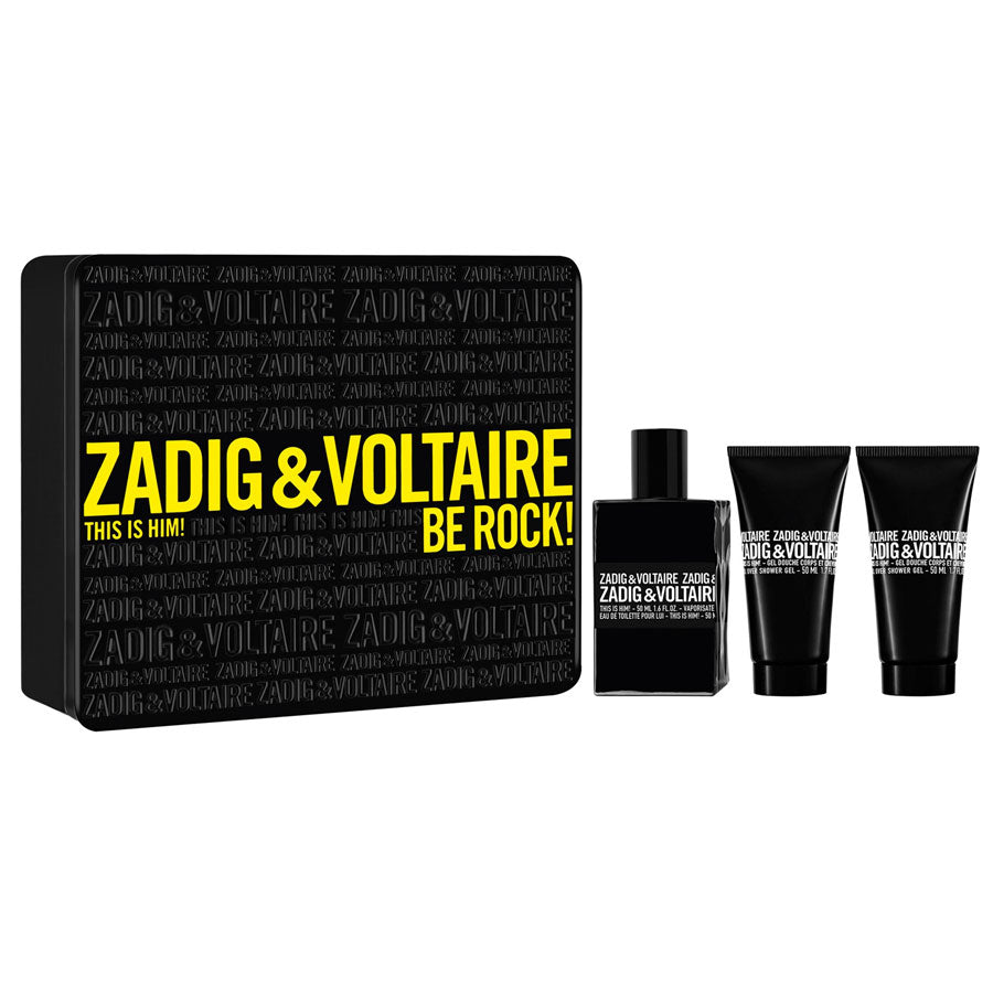 Zadig & Voltaire This Is Him! Eau De Toilette 50ml Gift Set