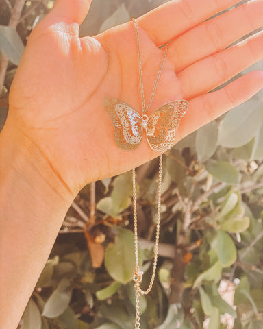 Butterfly Necklace (New)