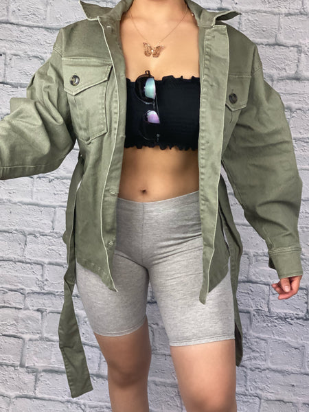 Way Out Jacket (Olive)