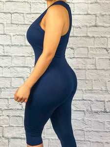 In The House Jumpsuit (Navy)