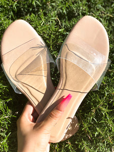 Summer Time Clear Sandals