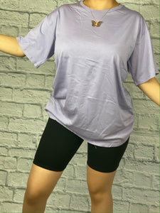 Casual Tee (Lavender)