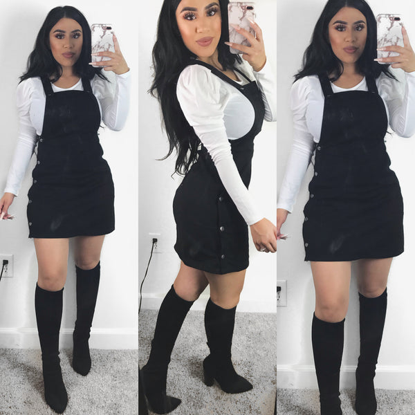 Bittersweet Overalls Dress