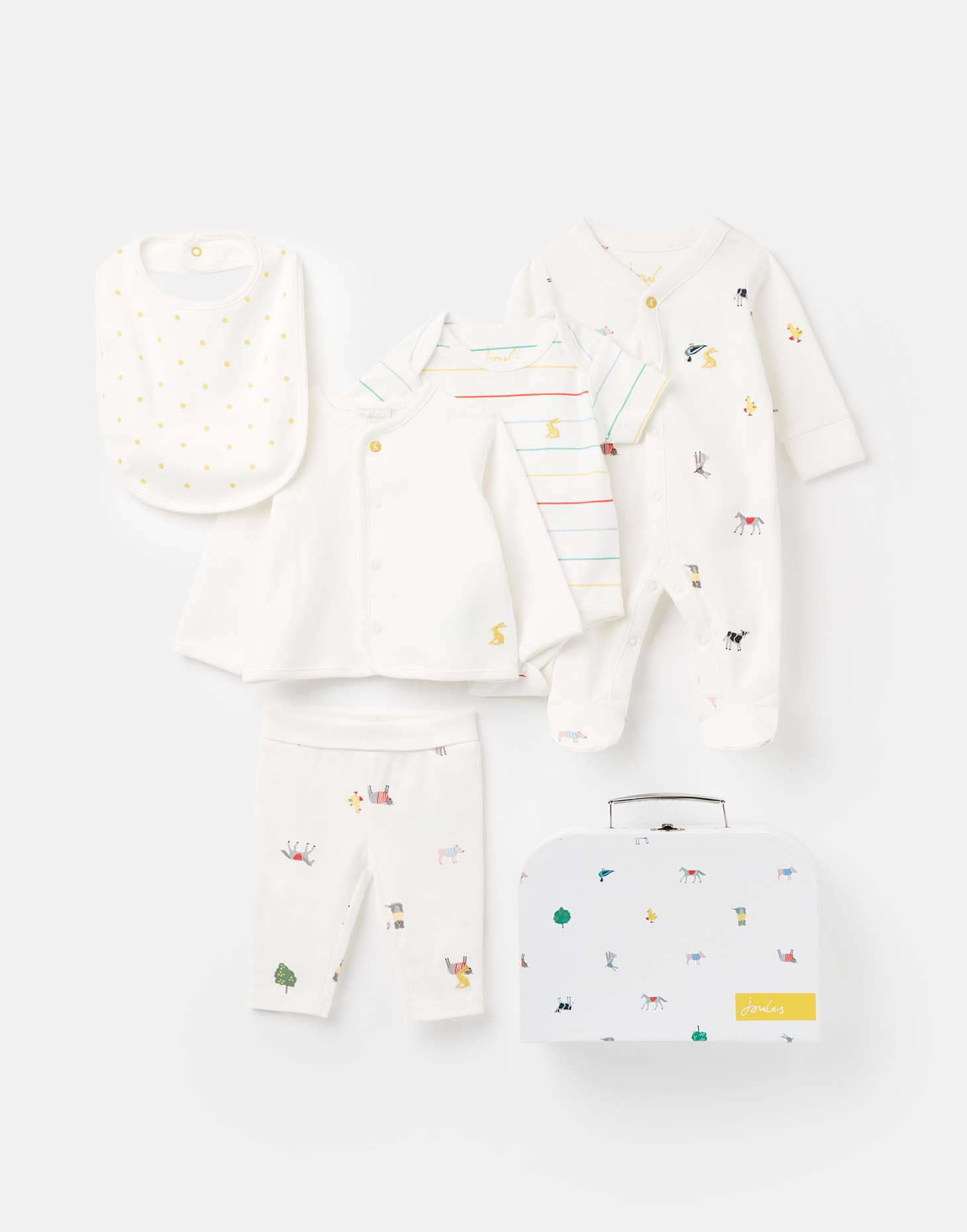 Joules - 207566 The Starter Set 5 Piece - Le Bébé Chic Boutique