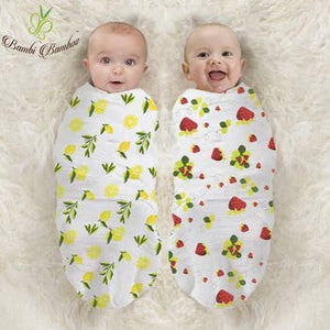 Lemon and Strawberry Swaddle