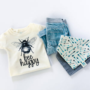 Bee Happy Bodysuit and Tee - Le Bébé Chic Boutique