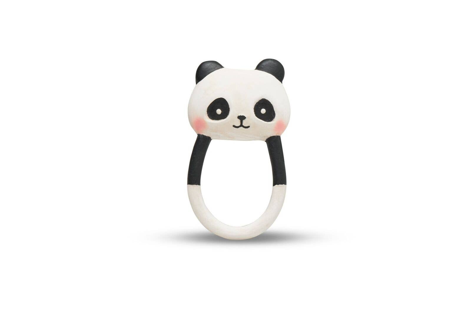 Lanco-Toys - Kori the Panda Teether - 100% Natural Rubber - Hand painted - Le Bébé Chic Boutique
