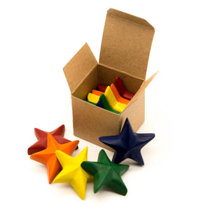Eco Stars Crayon - Box of 5 - Le Bébé Chic Boutique