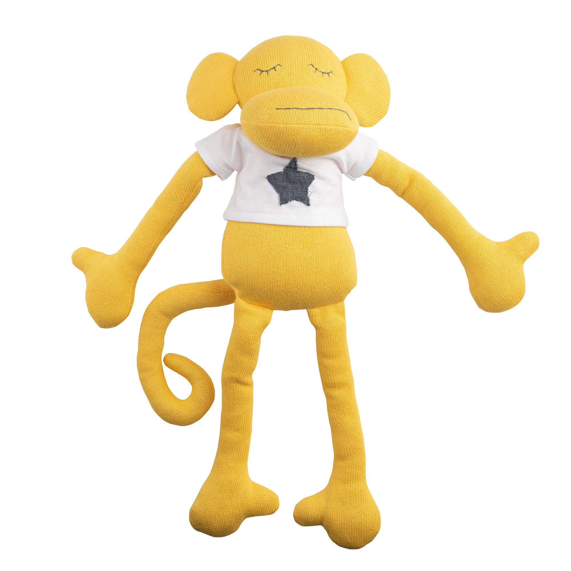 Lil Pyar Yellow Monkey Plush Huggie