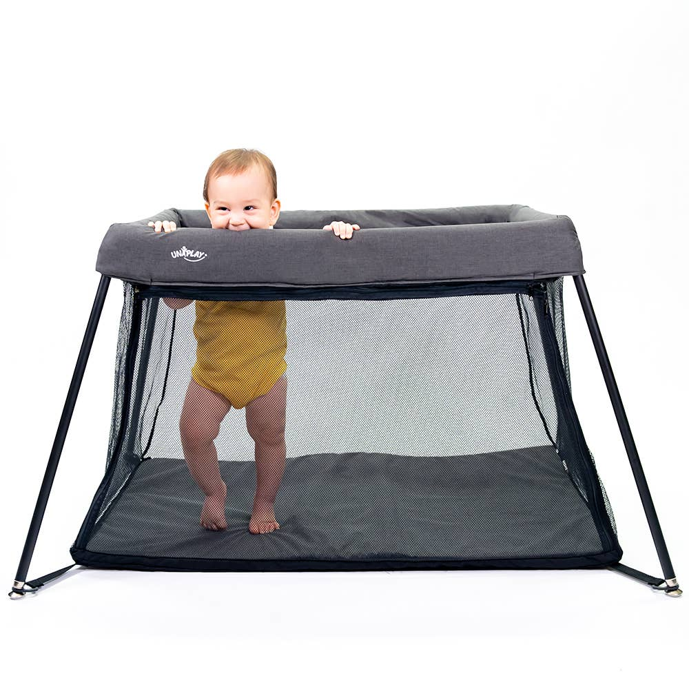 UNiPLAY - UNiPLAY #562 Portable Playard with front zipper/ Travel Crib - Le Bébé Chic Boutique