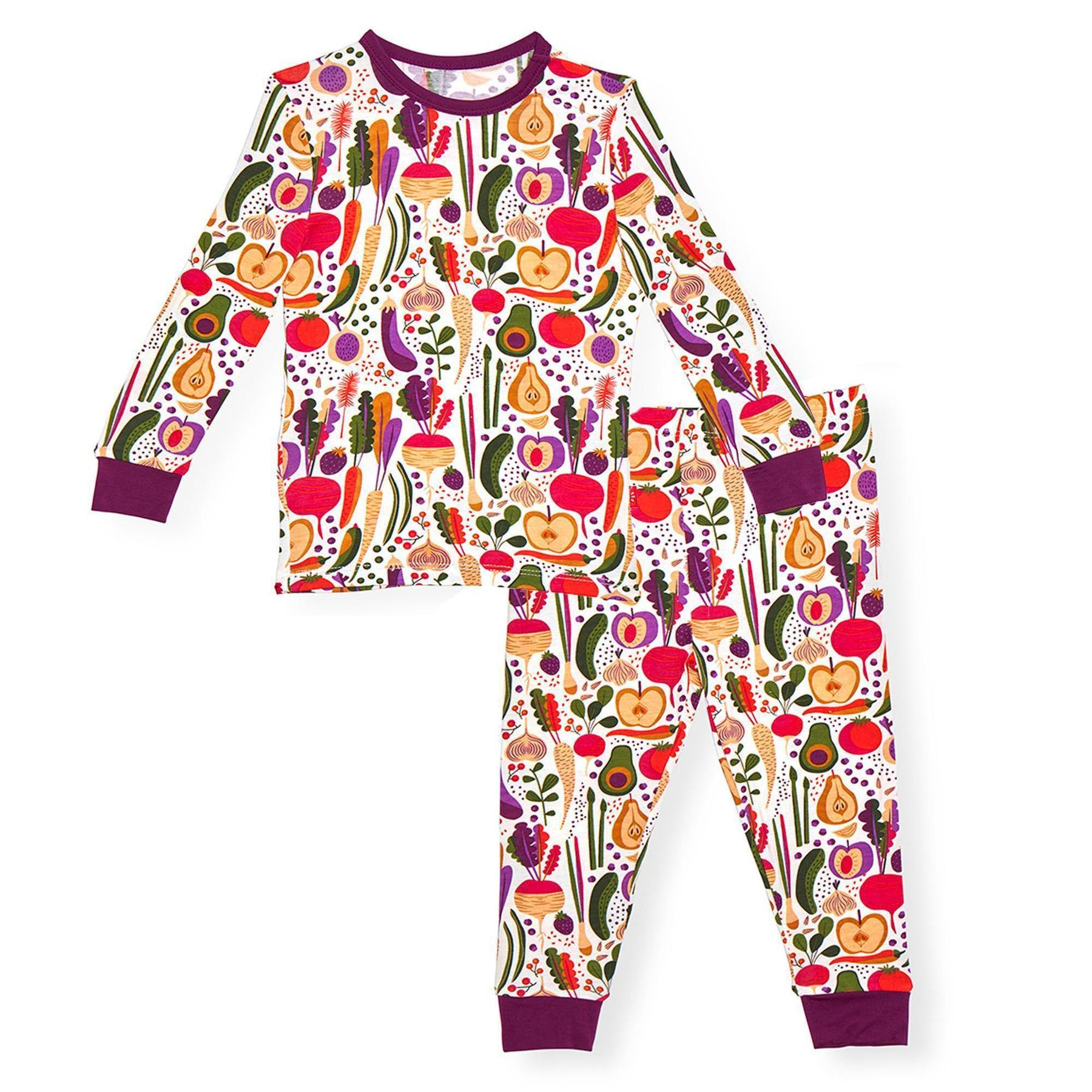 Magnificent Baby - Home Grown 2 Piece Toddler Pajama Set