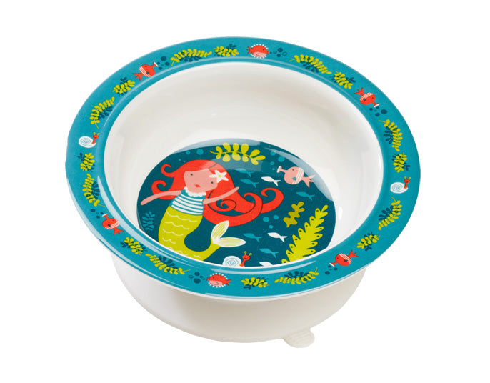 Isla the Mermaid Suction Bowl - Le Bébé Chic Boutique
