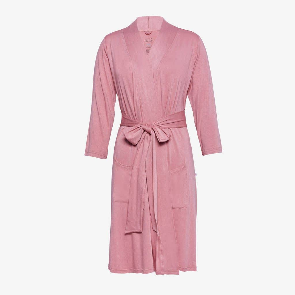 Dusty Rose Mommy Robe - Le Bébé Chic Boutique