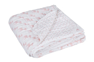 Cozy Blanket XL Lela Light Pink - Le Bébé Chic Boutique