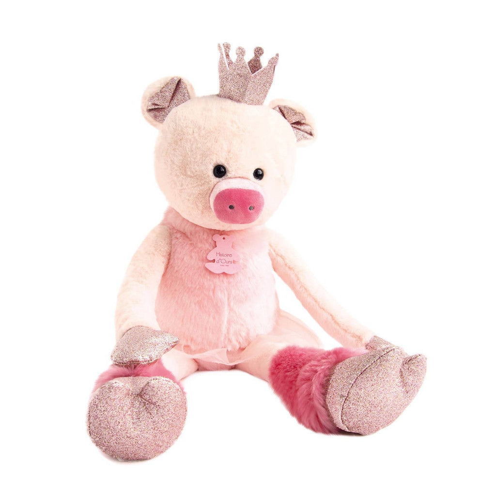 Rosette Pig Stuffed Animal - Le Bébé Chic Boutique