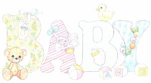 Gender Neutral Baby Shower Gift Card - Le Bébé Chic Boutique