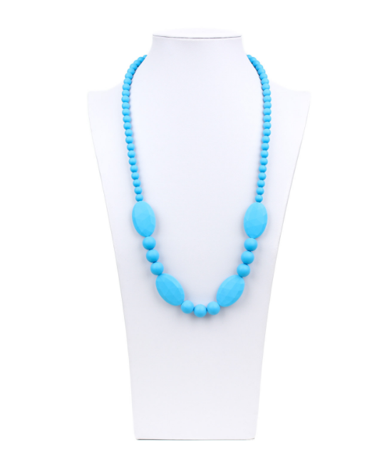 Ellisse Silicone Teething Necklace - Le Bébé Chic Boutique