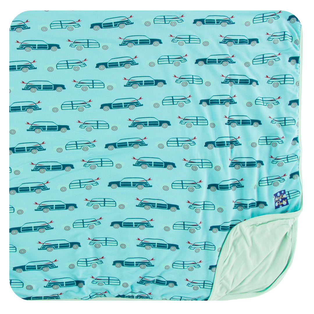 Print Toddler Blanket (Shining Sea Woody) - Le Bébé Chic Boutique