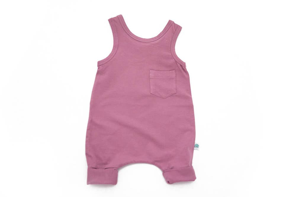 Easy-On-Off-Dungarees - Dusty Lavender - Le Bébé Chic Boutique