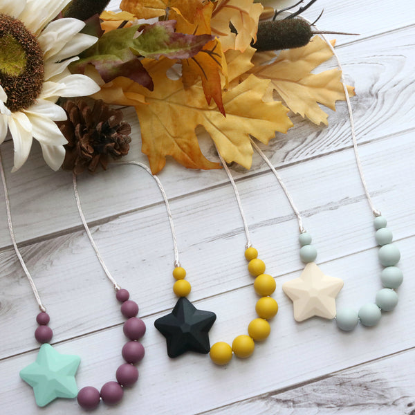 Getting Sew Crafty - (CHILD) Silicone Teething Necklace - Le Bébé Chic Boutique
