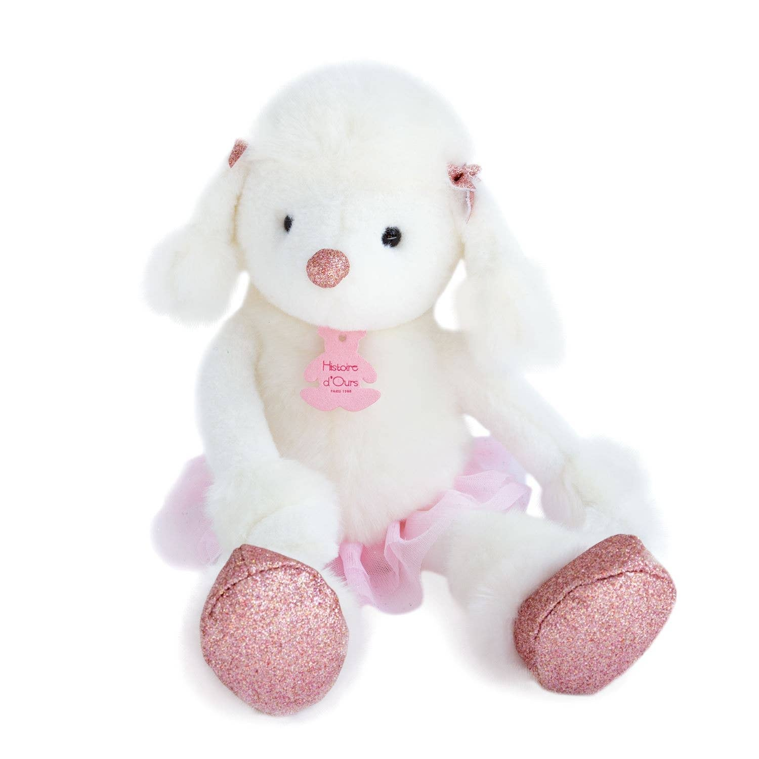 Roxane Poodle Stuffed Animal - Le Bébé Chic Boutique