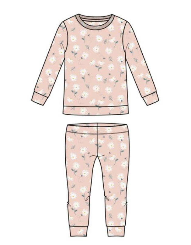 Darling Miss Daisy Two Piece PJ/Lounge Set