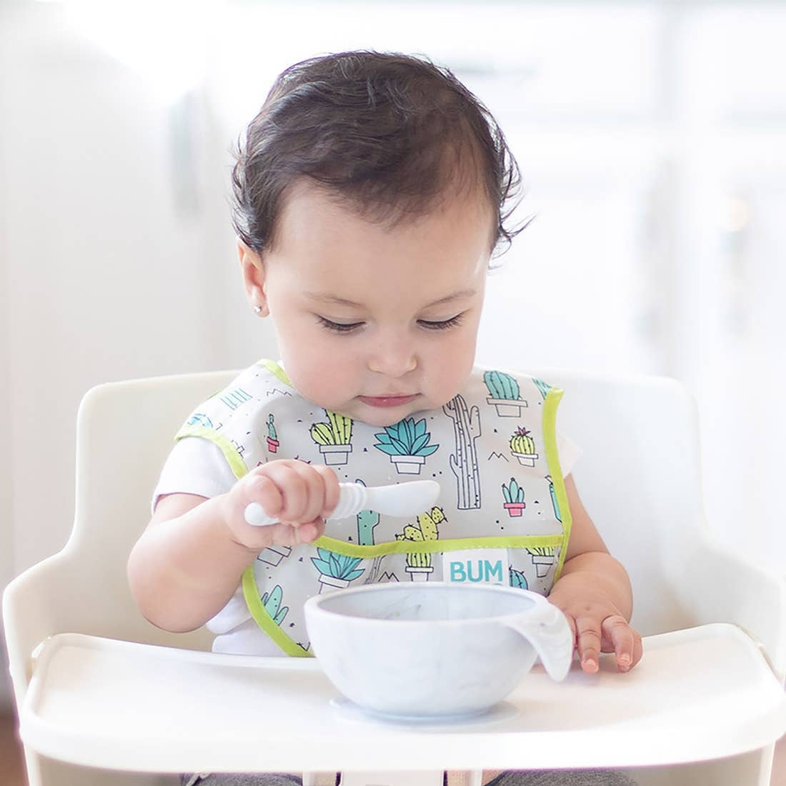 First Feeding Set - Marble - Le Bébé Chic Boutique