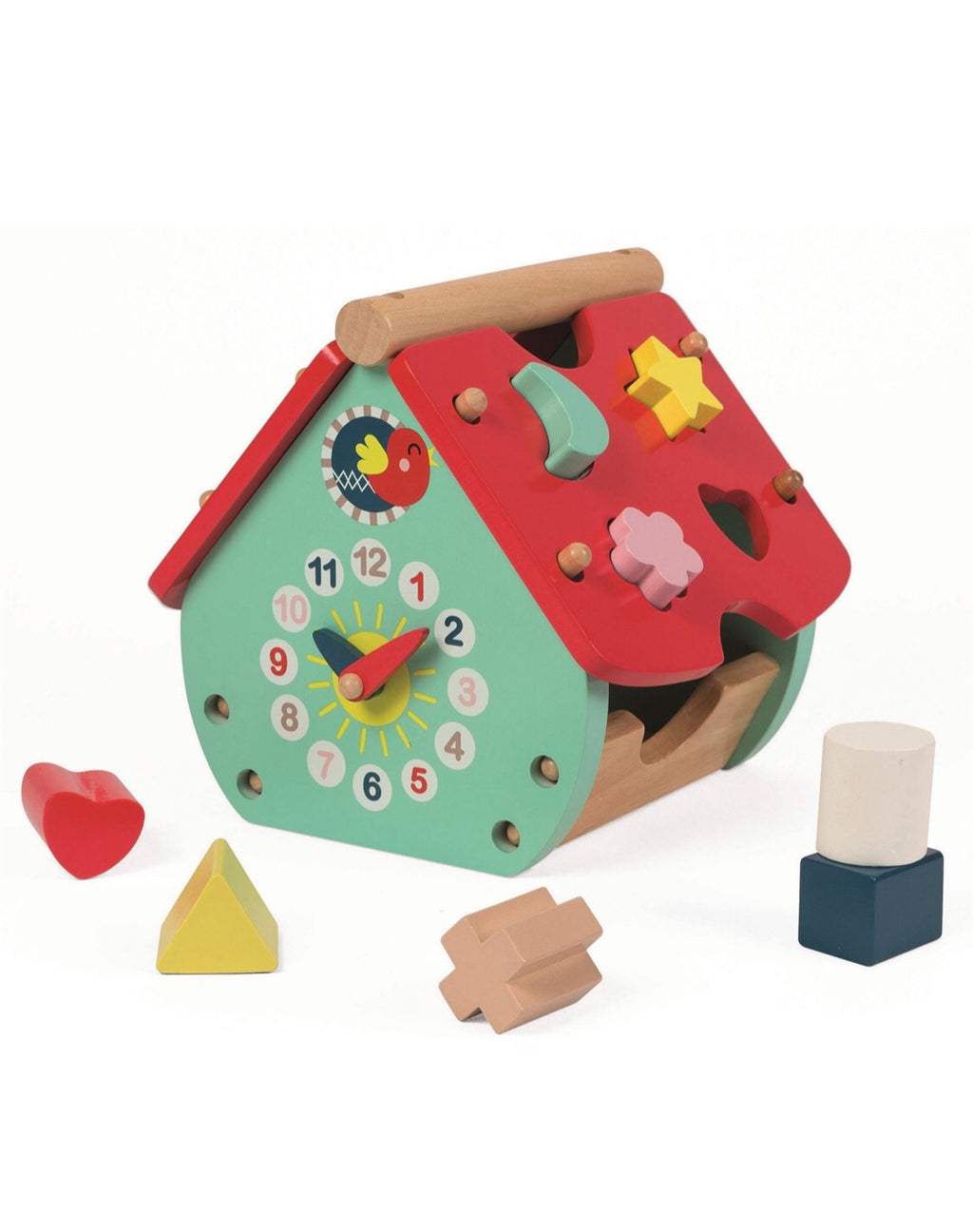 House Shape Sorter - Le Bébé Chic Boutique