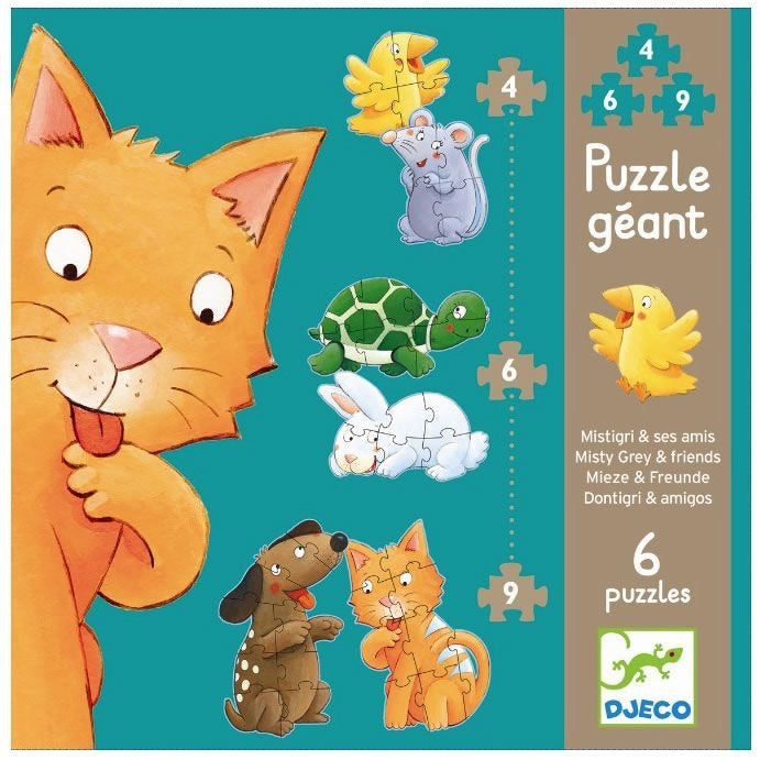 Mieze and Friends Puzzle 6 puzzles - Le Bébé Chic Boutique