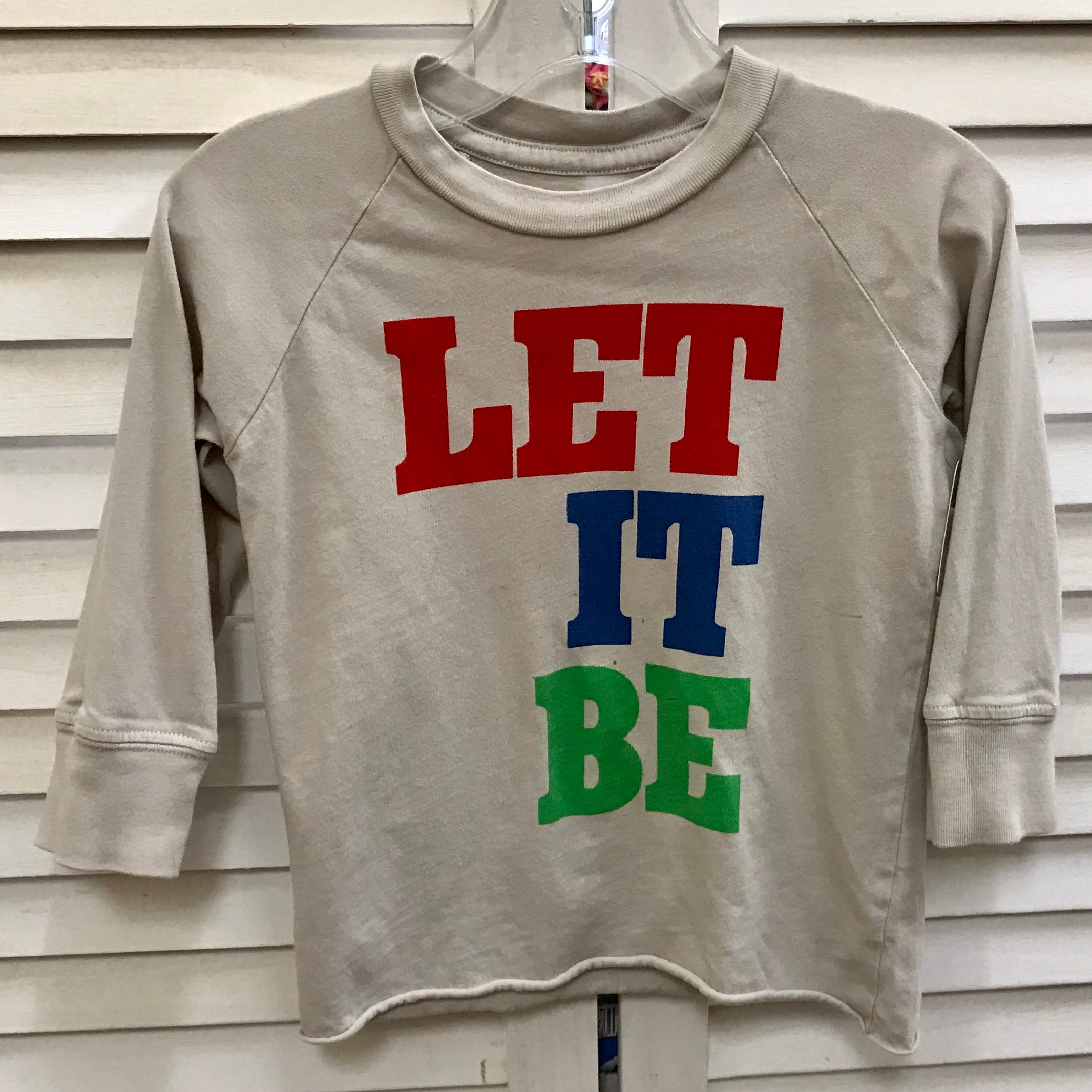 Little Peanut 'Let It Be' Long Sleeve Shirt 12-18M