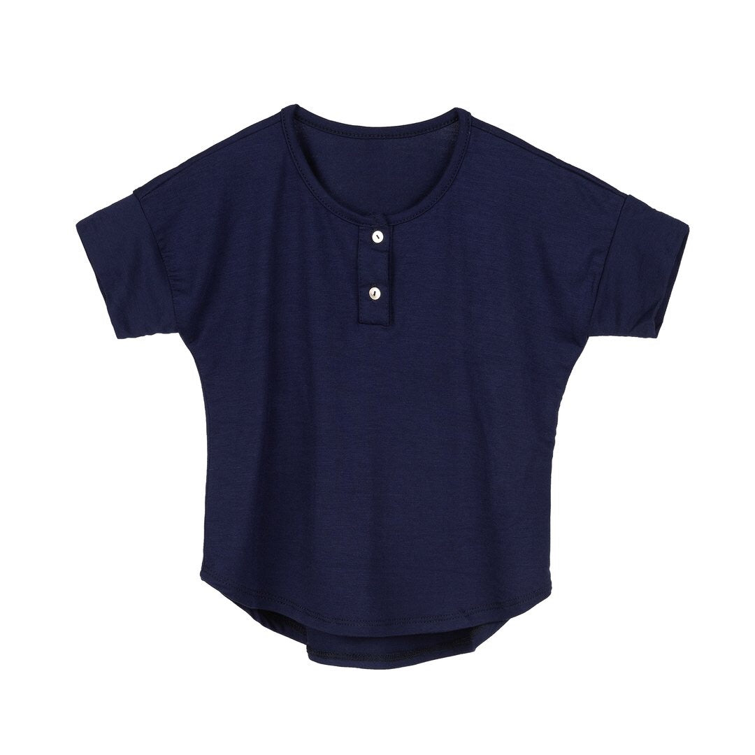 Little Shirt Navy - Le Bébé Chic Boutique