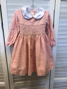 Anavini long sleeved smocked dress 2 - Le Bébé Chic Boutique
