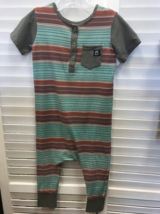 RAGS Striped romper 3/4 - Le Bébé Chic Boutique