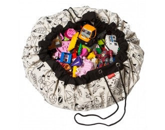 Color my Own Play and Go Bag - Le Bébé Chic Boutique