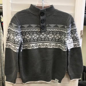 Rugged Butts Gray Sweater 3T
