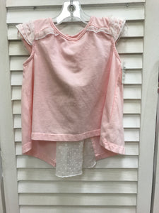 Jillians Closet Blouse Baby Pink 6-9 Months - Le Bébé Chic Boutique