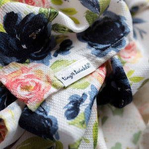 Tiny Twinkle Kaffle Swaddle Blanket - Blush